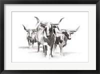 Contemporary Cattle I Fine-Art Print