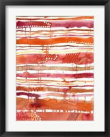 Tangerine Stripes II Fine-Art Print