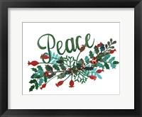 Cut Wreath Christmas II Fine-Art Print