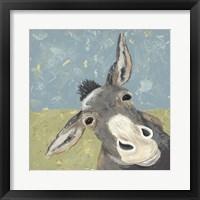Farm Life-Mule Fine-Art Print