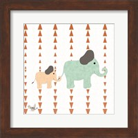 Zoo Animals Elephants Fine-Art Print
