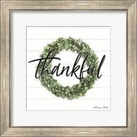 Thankful Boxwood Wreath Fine-Art Print
