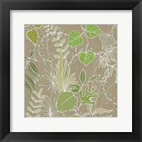 Linen Leaves 2 Fine-Art Print