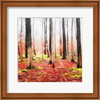 Fall Leaves Mate Fine-Art Print