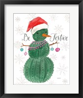 A Very Cactus Christmas I Be Festive Fine-Art Print