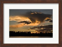 Fools Hollow State Park Sunset 1 Fine-Art Print