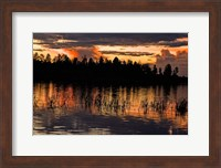 Fools Hollow State Park Sunset 2 Fine-Art Print