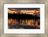 Fools Hollow State Park Sunset 2 Fine-Art Print