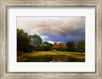 Catherdral Rock Rainbow Sedona Arizona Fine-Art Print
