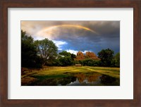 Catherdral Rock Rainbow Fine-Art Print