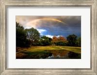 Catherdral Rock Rainbow Fine-Art Print