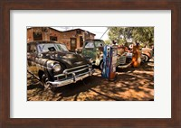 Old Cars Trucks Route 66 Arizona Fine-Art Print