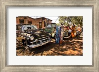 Old Cars Trucks Route 66 Arizona Fine-Art Print