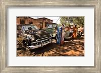 Old Cars Trucks Route 66 Fine-Art Print