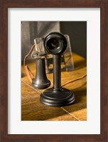 Old Phone At Train Station Fine-Art Print