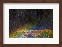 Water Falling On Rock 2 Fine-Art Print