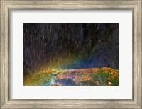 Water Falling On Rock 2 Fine-Art Print