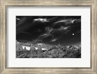 Moon Over The Red Rocks Sedona Arizona 2 Fine-Art Print