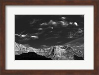 Moon Over The Red Rocks Sedona Arizona 3 Fine-Art Print