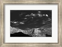 Moon Over The Red Rocks Sedona Arizona 3 Fine-Art Print