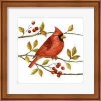 Birds & Berries III Fine-Art Print