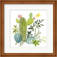 Happy Cactus I Fine-Art Print