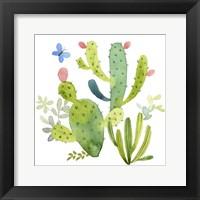 Happy Cactus II Fine-Art Print