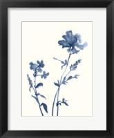 Indigo Wildflowers VI Fine-Art Print