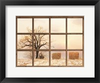 View of Winter Fields Fine-Art Print