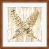 Feathers Crossed I Fine-Art Print