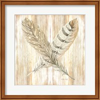 Feathers Crossed II Fine-Art Print