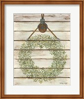 Pully Hanging Wreath Fine-Art Print