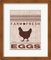 Grain Sack Eggs Fine-Art Print