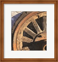 Old Wheel I Fine-Art Print