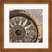 Old Wheel II Fine-Art Print
