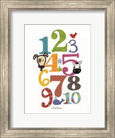 Colorful Numbers Fine-Art Print