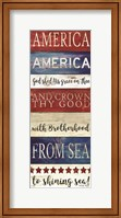 America God Shed His Grace on Thee Fine-Art Print