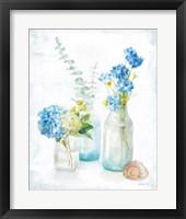 Beach Cottage Florals III Fine-Art Print