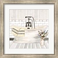 Farmhouse Bath I Tub Fine-Art Print