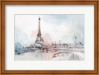 Blushing Paris Fine-Art Print