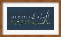 All is Calm, All is Bright Fine-Art Print