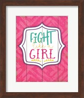 Fight Like a Girl Fine-Art Print