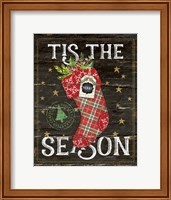 Tis the Season Stocking Fine-Art Print