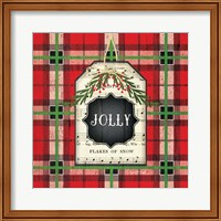 Jolly Christmas Plaid Fine-Art Print