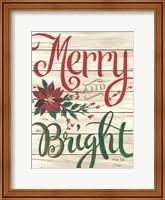 Merry & Bright Shiplap Fine-Art Print