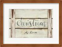 Christmas is Love Fine-Art Print