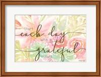 Floral Grateful Heart Fine-Art Print