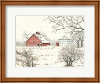 Winter Barn Fine-Art Print