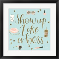 Boss Ladies VII Mint Fine-Art Print