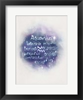 Starlight Astology Aquarius Fine-Art Print